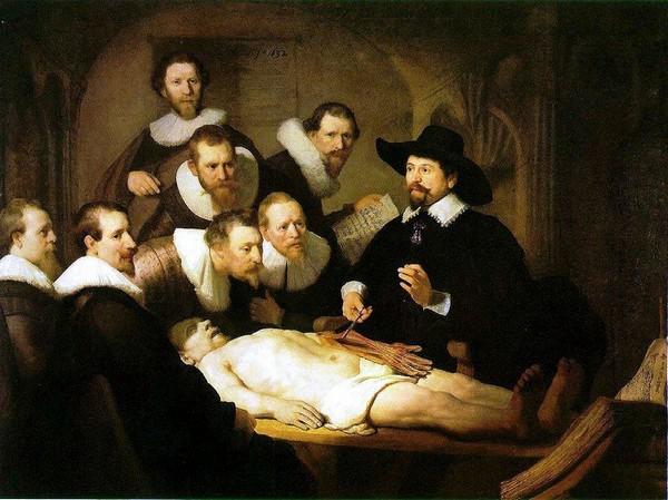 Урок анатомії доктора Тюльпа. Харменс Рембрандт