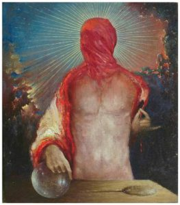 Soothsayer Painting by Andrzej Mazur