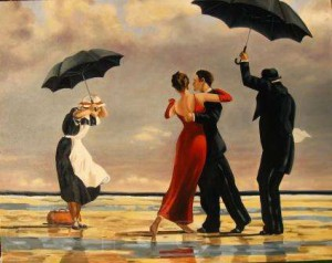 Jack Vettriano, The Singing Butler, 1992