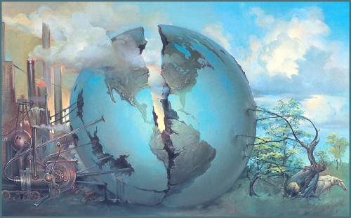 Розколотий світ. Джон Пітр