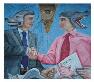 Дволикі бізнесмени і договір з підкладеної свинею. Альберт Раст